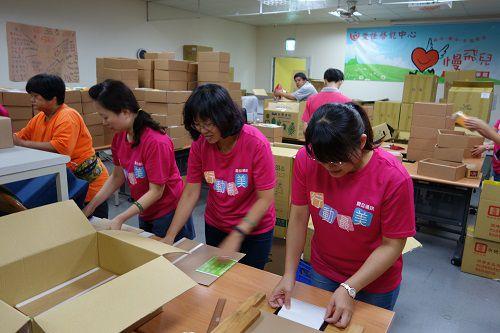 一份夢想禮盒包含許多人的努力!