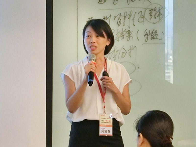 震旦辦公雲經理吳曉春分享,對於中小企業來說導入人資系統,相對是划算的投資,也是企業省時省力的好幫手。