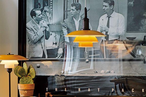 PH 3½-3燈具,是根據1920到1930年代間,從Poul Henningsen的設計手稿中去延伸出的產品,同樣包含吊燈 與桌燈式樣