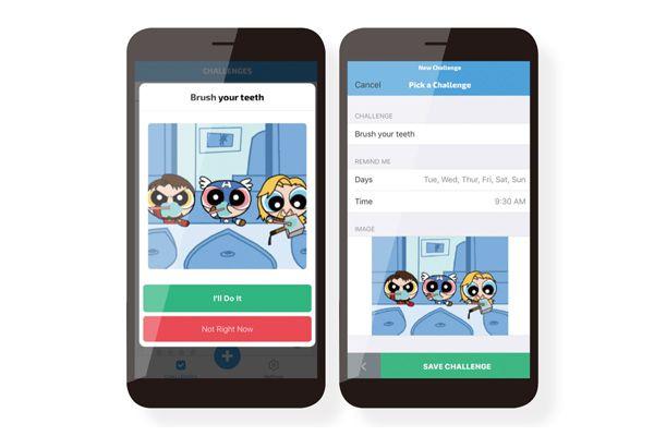 應用程式「大聲笑出來」,通過幽默趣味的介面與互動,幫助使用者學習學習「刷牙」等生活技能,並養成自律。