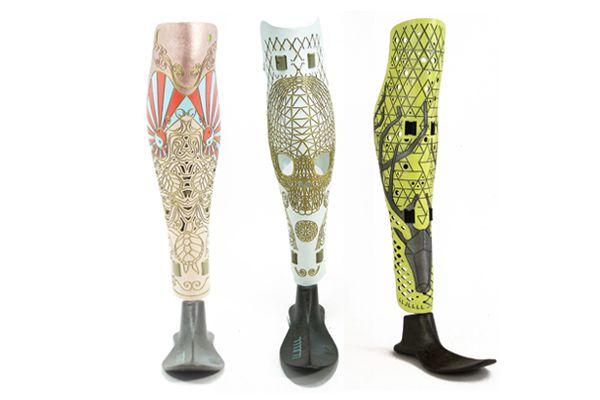 酷炫義肢外殼,把肢體行動的不便,轉化成一種美學宣言,讓穿戴者擁有更多勇氣與自信。
