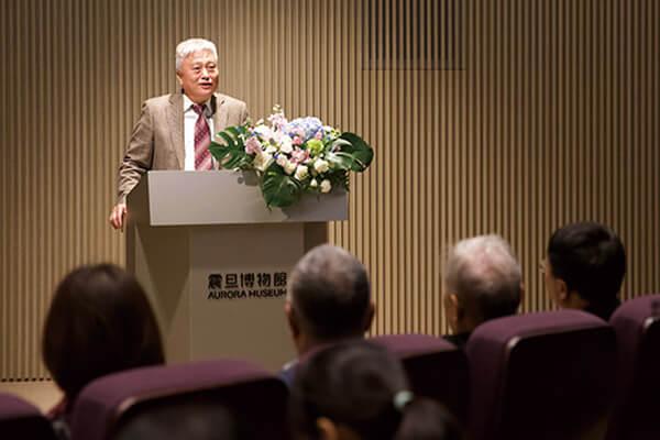吳棠海董事代表館方發言致辭