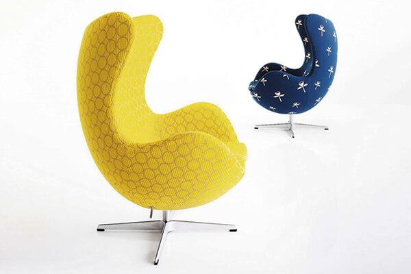 丹麥Arne Jacobsen蛋形椅(Egg Chair,1958年)