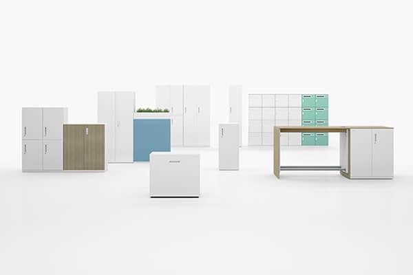 兼具收納、滿足移動辦公工作型態的iStore系列櫃型