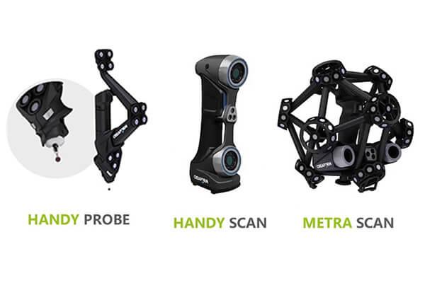 Creaform品牌旗下適合汽車產業的三大手持式3D掃描機款