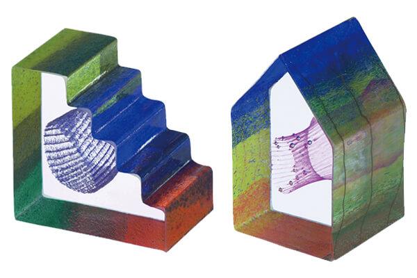 貝提爾的迷你玻璃雕塑系列