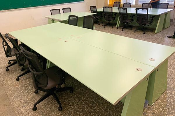 震旦集團捐贈辦公桌椅,協助偏鄉教育提升教學品質
