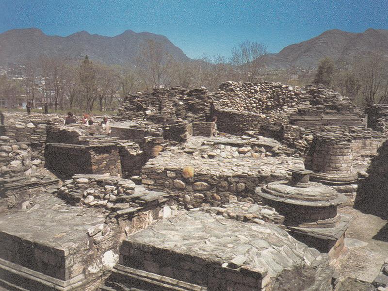圖六:布特卡拉1號早期佛教遺址