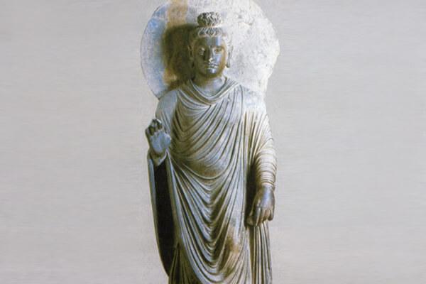 圖三:犍陀羅早期佛像