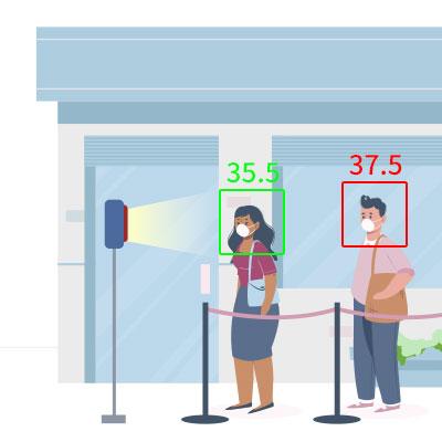 測溫人臉辨識系統
