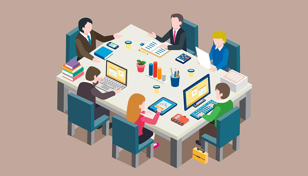 多數工作仍有實體辦公空間以滿足協作與情感交流的需求