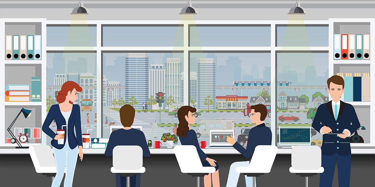 震旦家具協助打造符合健康安全的實體辦公空間